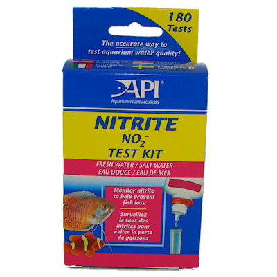 Nitrite test kit API Hanover koi farms