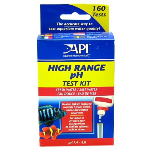 High range pH test kit API Hanover Koi Farms
