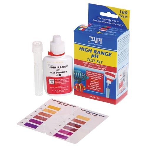 High range pH test kit API Hanover Koi Farms