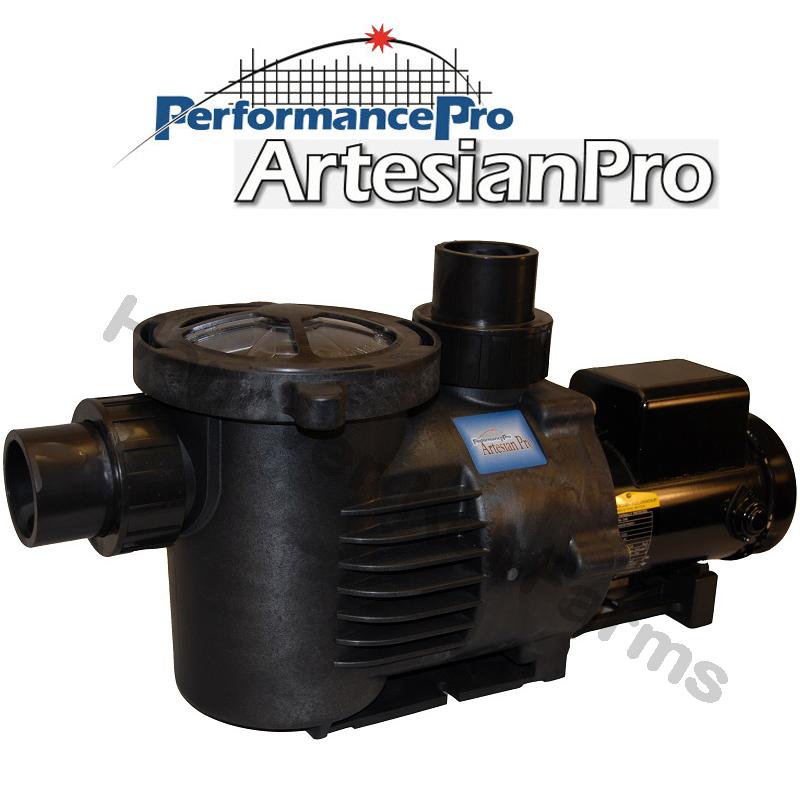 High flow series artesianpro pond waterfall pumps for Farm pond pumps