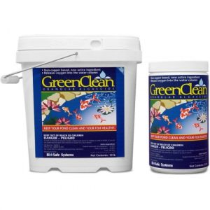 Green clean string algae control Hanover Koi farms