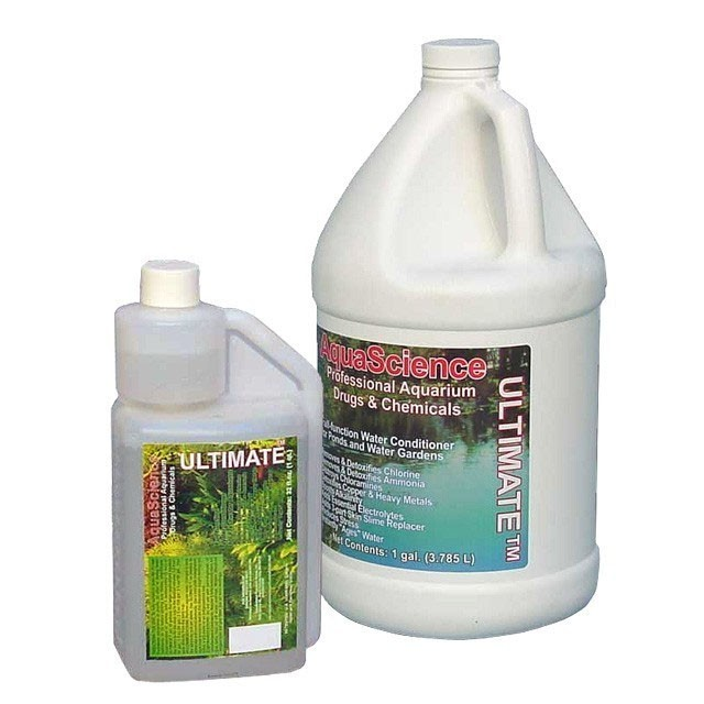 Ultimate water conditioner dechlorinator and ammonia for Dechlorinator for koi ponds