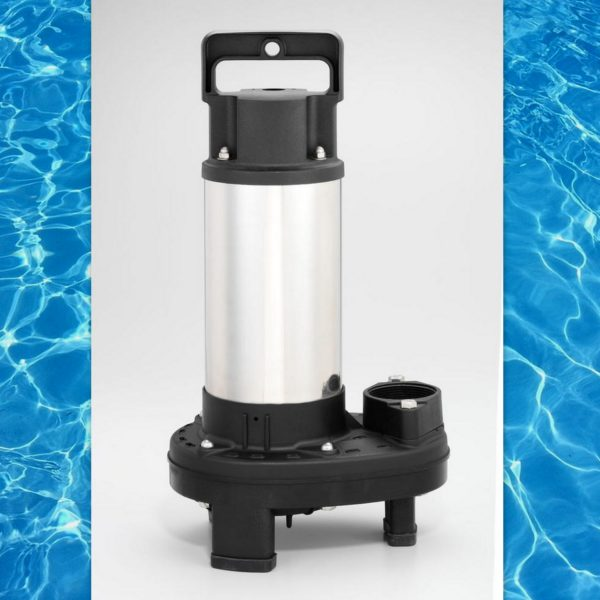 1 3 hp submersible pond waterfall pump 4380 gph 5 for Koi pond motors