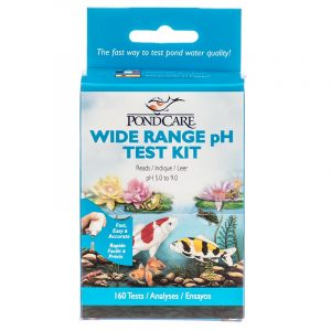 pH wide range test kit hanover koi farms