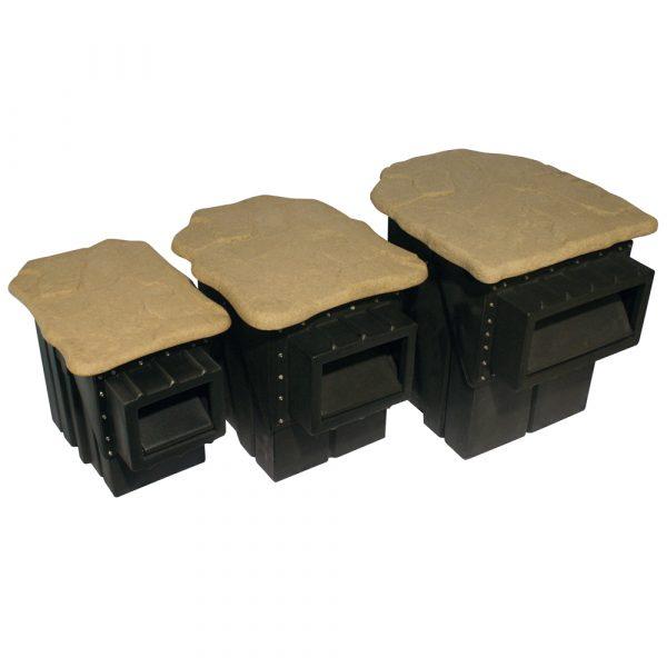 Skimmer boxes Pondbuilder Hanover Koi Farms