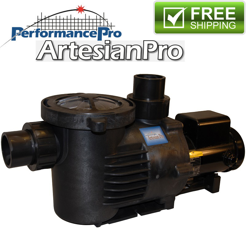 Low rpm artesianpro pond and waterfall pump 1 hp 10800 for What size pond pump do i need