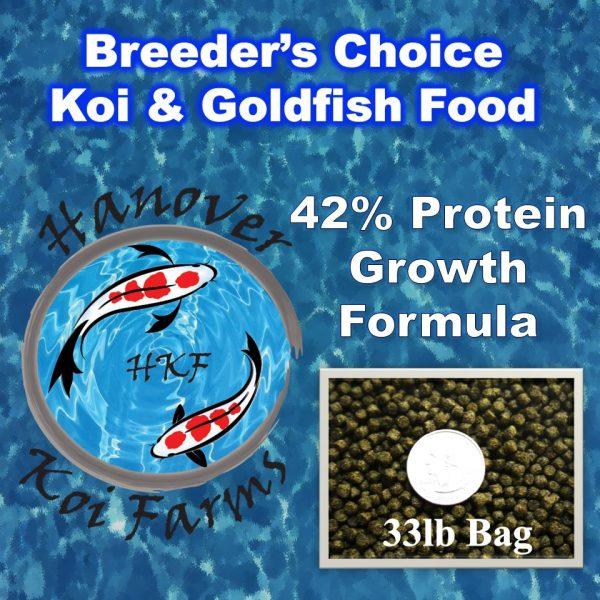 Hanover koi farms breeders choice growth food